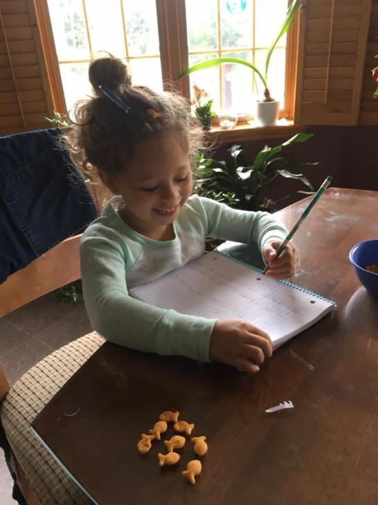 We homeschooled for the first 2 months of Kindergarten.