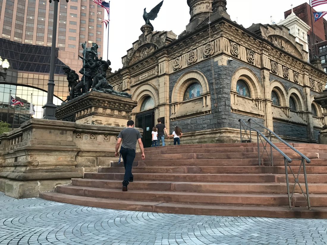 Soldiers and Sailors Monument in Cleveland Public Square