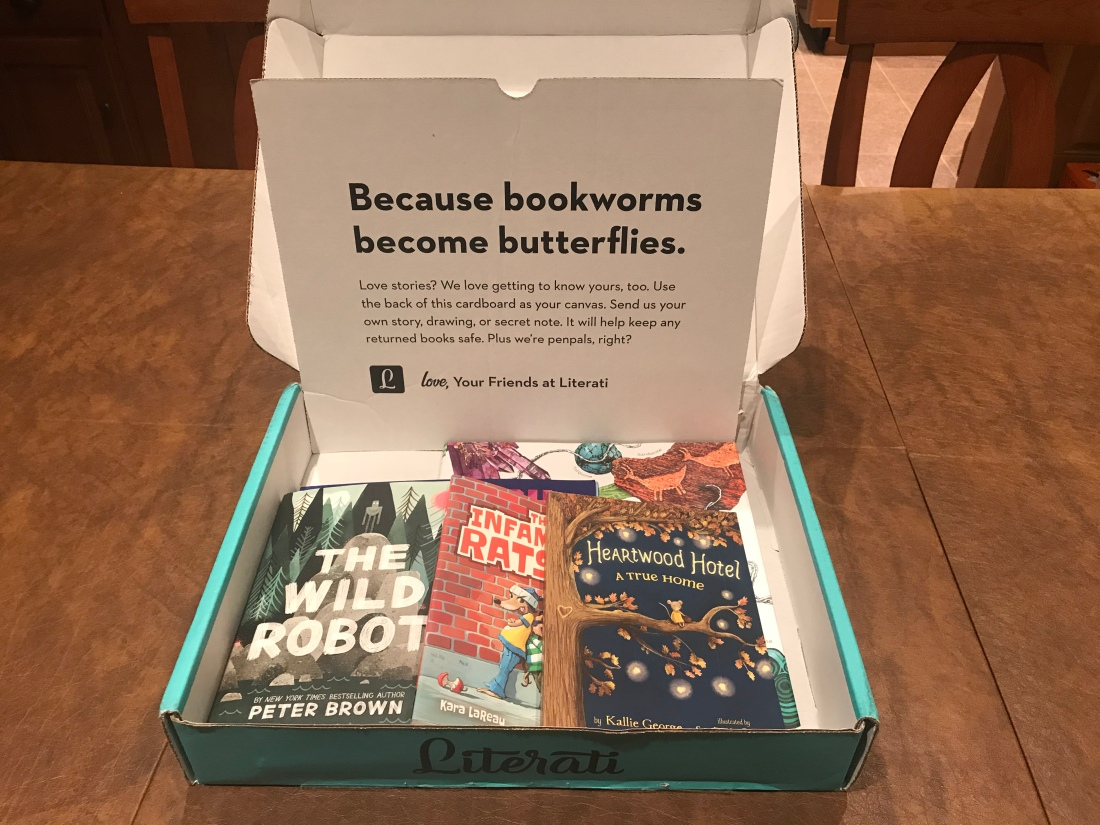 because book worms become butterflies Literati subscription box