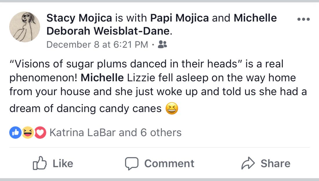 Facebook post screenshot